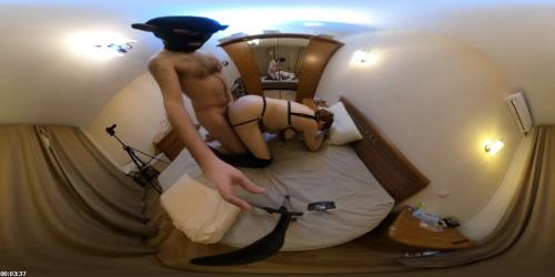 Harness and leather overknee boots fuck. 360 2D VR | Mature Cunt
