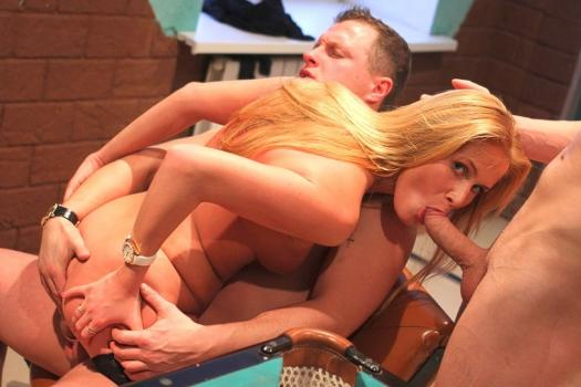 Pickupfuck.com- Sexy college teacher gets naked for money