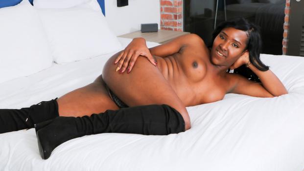 Black-tgirls.com- Cumshot Thursday: Yony