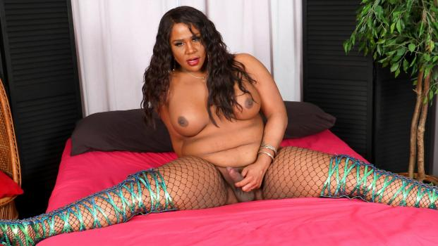 Black-tgirls.com- Karla Body_s Climax