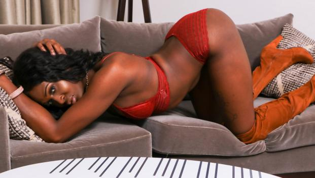 Black-tgirls.com- Zakiyah Cums For You