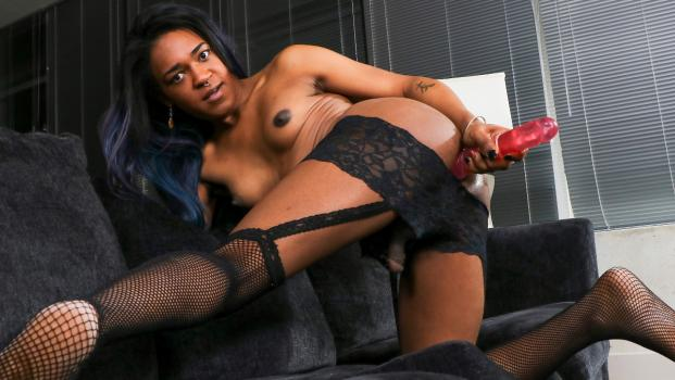 Black-tgirls.com- Misty Foxx Is Back