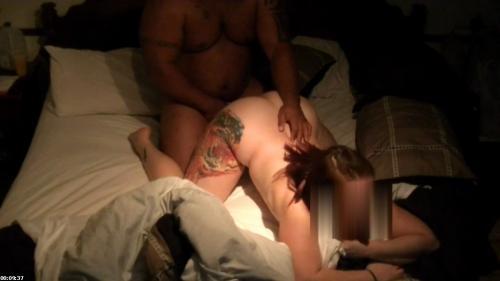 Thick white milf gets bbc hard and balls deep (full video) | SASHA AND BEAR