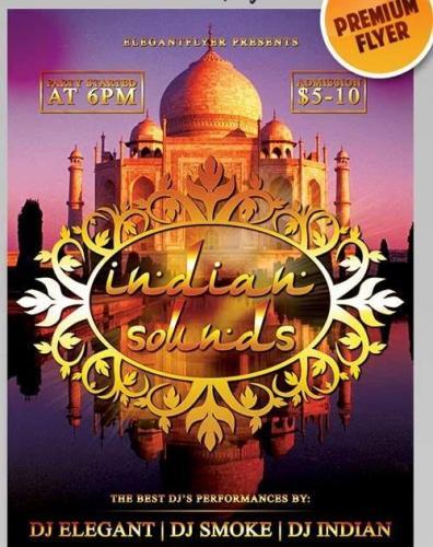 Indian Sounds Flyer PSD Template