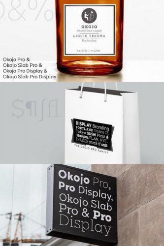 Okojo Pro Font Family