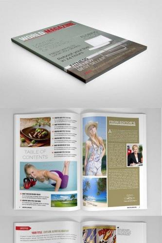 Multipurpose Magazine World