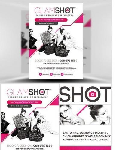 Glamshot Photographers Flyer Template