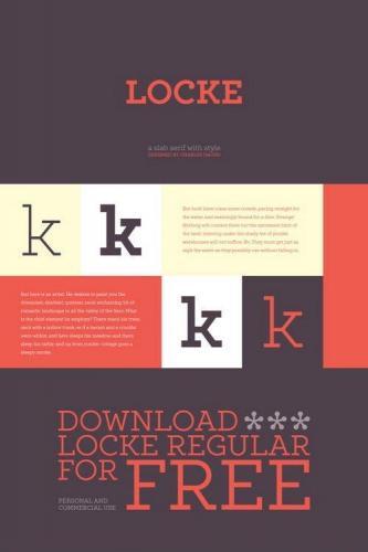 Locke Font Family