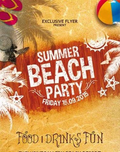 Summer Beach Party Vol.4 Flyer Template