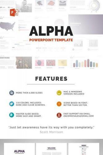 Alpha Powerpoint Template