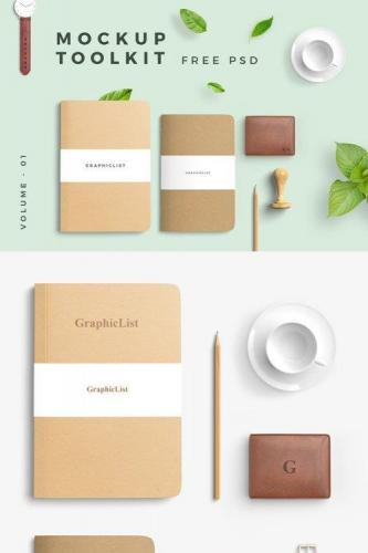 Mockup Toolkit Vol.1