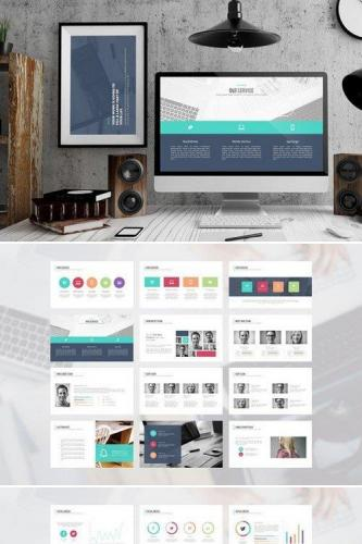 Rempah PowerPoint Template 412151