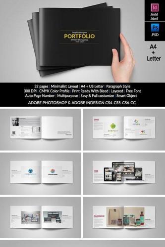 Graphic Design Portfolio Template 336440