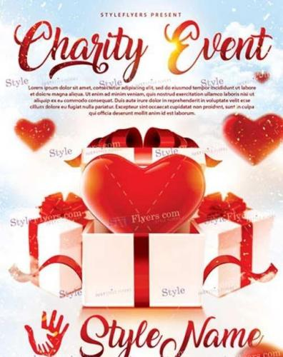 Charity Event PSD V7 Flyer Template