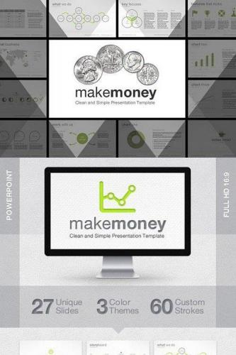 MakeMoney PowerPoint Template