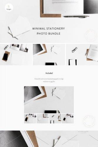 Minimal Stationery Photo Bundle