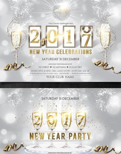 New Year Party Flyer 19047483