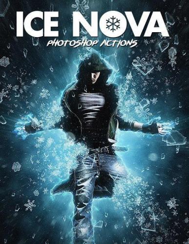 Ice Nova Photoshop Action