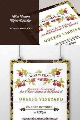 Wine Tasting Flyer-Poster