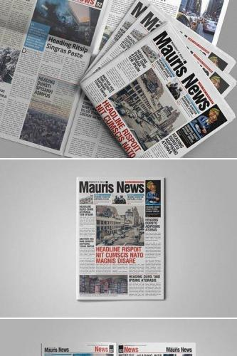 16 Page Newspaper Design