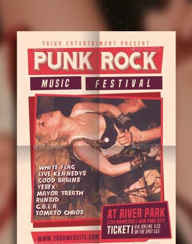 Punk Rock Music Festival