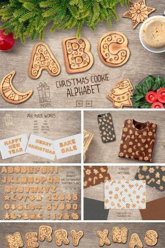 Christmas Cookie Alphabet Vol.2