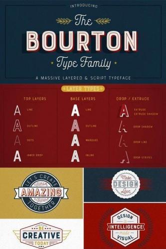 Bourton Font Family