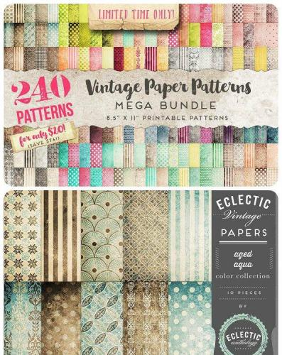 Vintage Paper Patterns MEGA Bundle