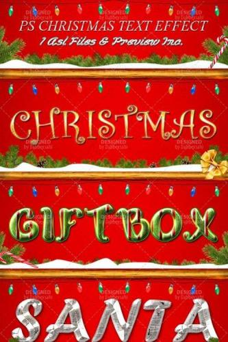 Christmas Text Styles for Photoshop [ASL]