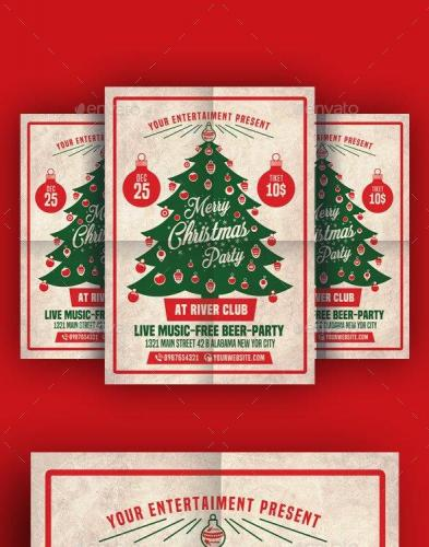 Christmas Party Flyer 18807540