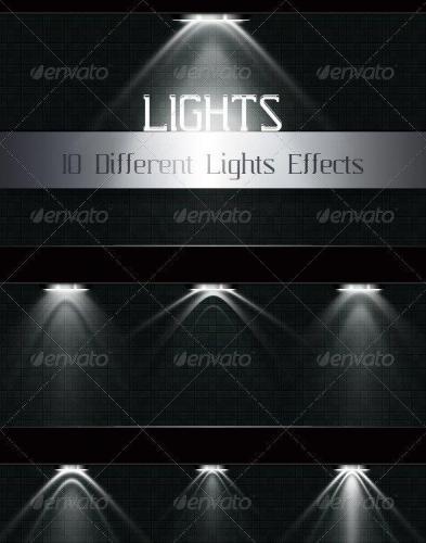 Light effects templates