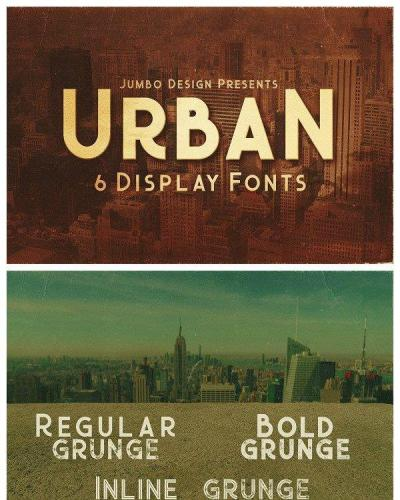 Urban - Display Style Font