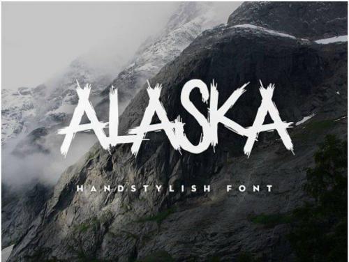 ALASKA Handstylish Font