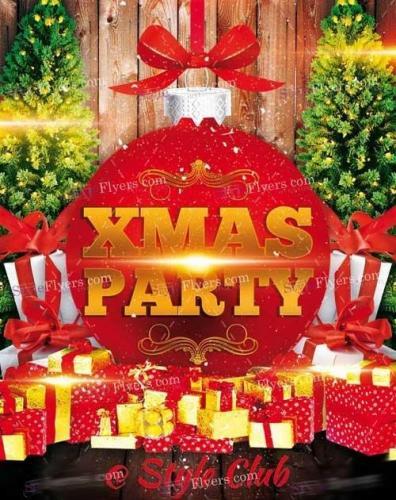 Xmas Party PSD V11 Flyer Template