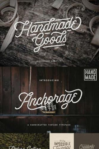 Anchorage - Vintage Script Typeface