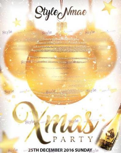 Xmas Party PSD V12 Flyer
