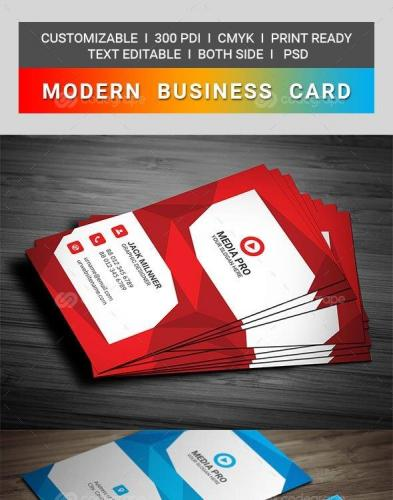 Modern Business Card 9977