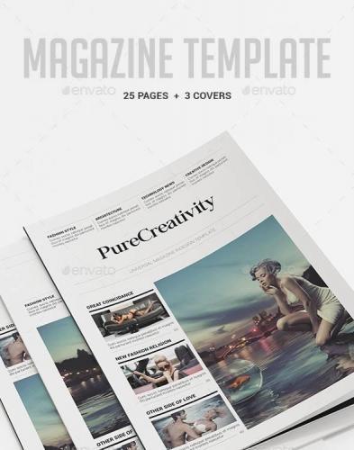 Magazine Template 9783949