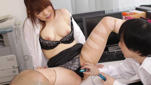 Japanhdv.com- Sexy Office Lady Drilled by Her Boss in a Threesome