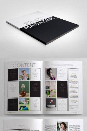Simply Magazine Template 12292
