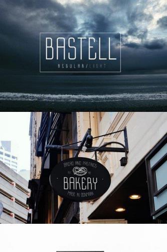 Bastell Typeface