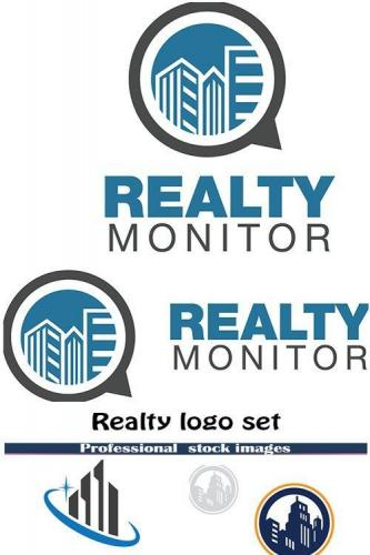 Realty logo set
