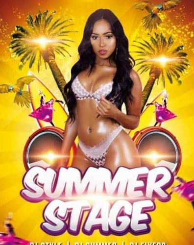 Summer Stage PSD Flyer Template