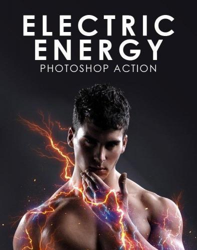 Electric Energy Photoshop Action