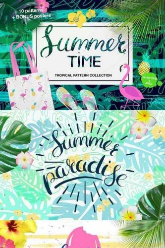 Summertime set of tropical patterns