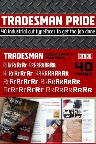 Tradesman Font Family