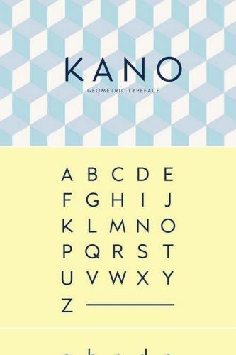 Kano font