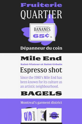 Double Font Family
