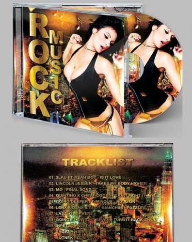 Rock Star CD Cover PSD Template