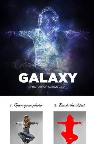 Galaxy Photoshop Action 16914670
